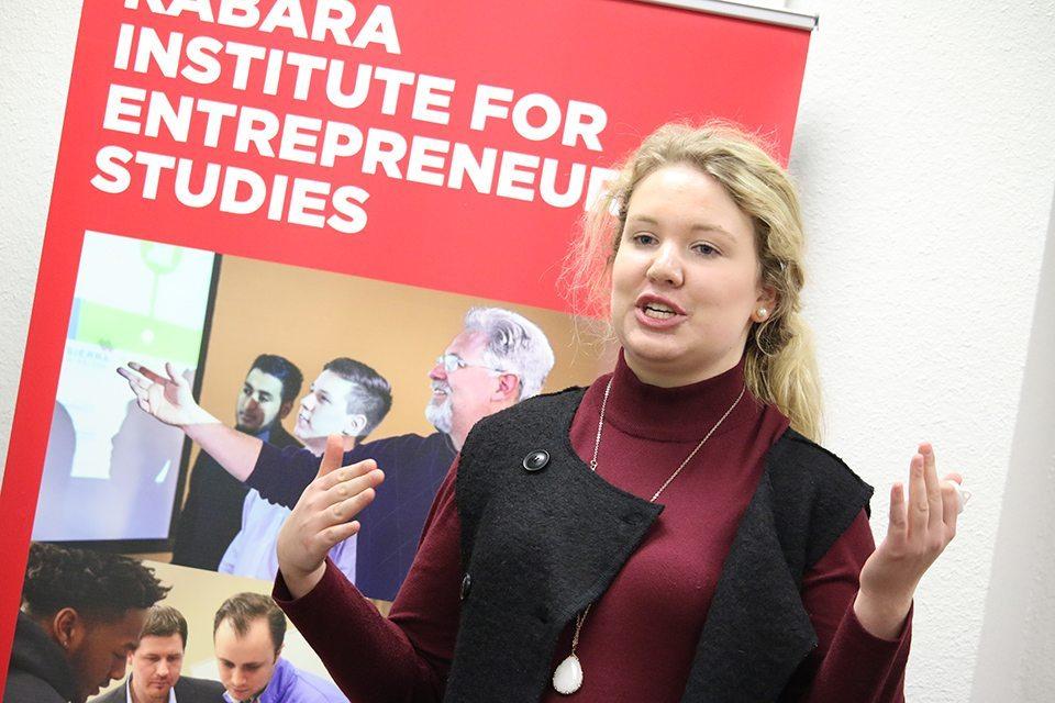 An entrepreneur in training