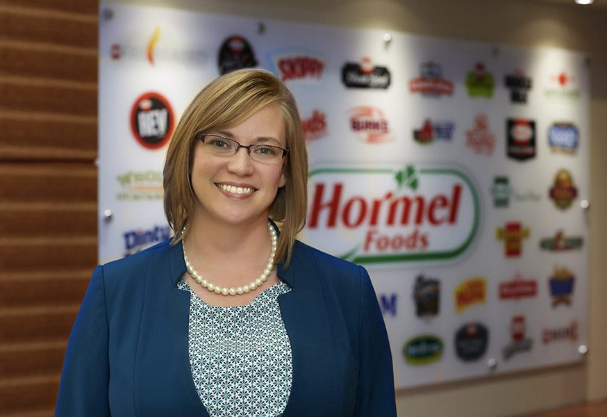 Business background aids HR supervisor at Hormel