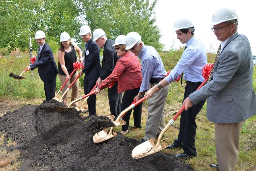 Ground broken on Rochester expansion [video]