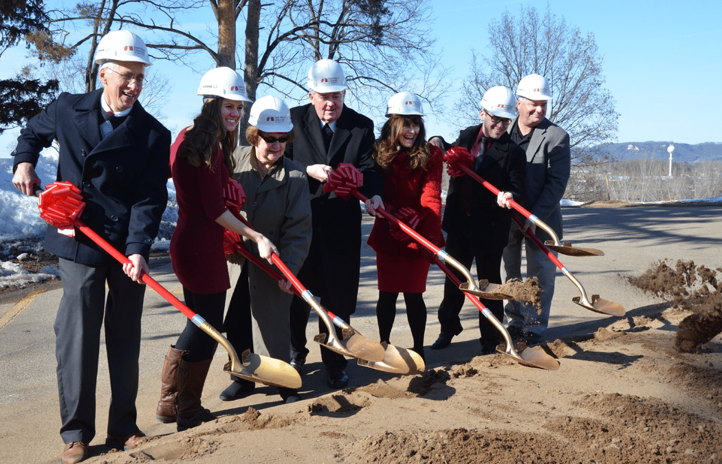 Saint Mary's breaks ground for Brother William Hall