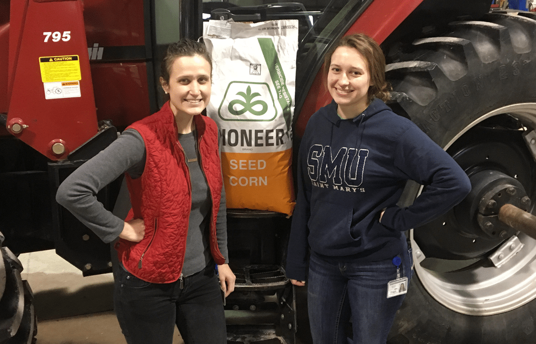 Sisters are outstanding in the field of plant breeding