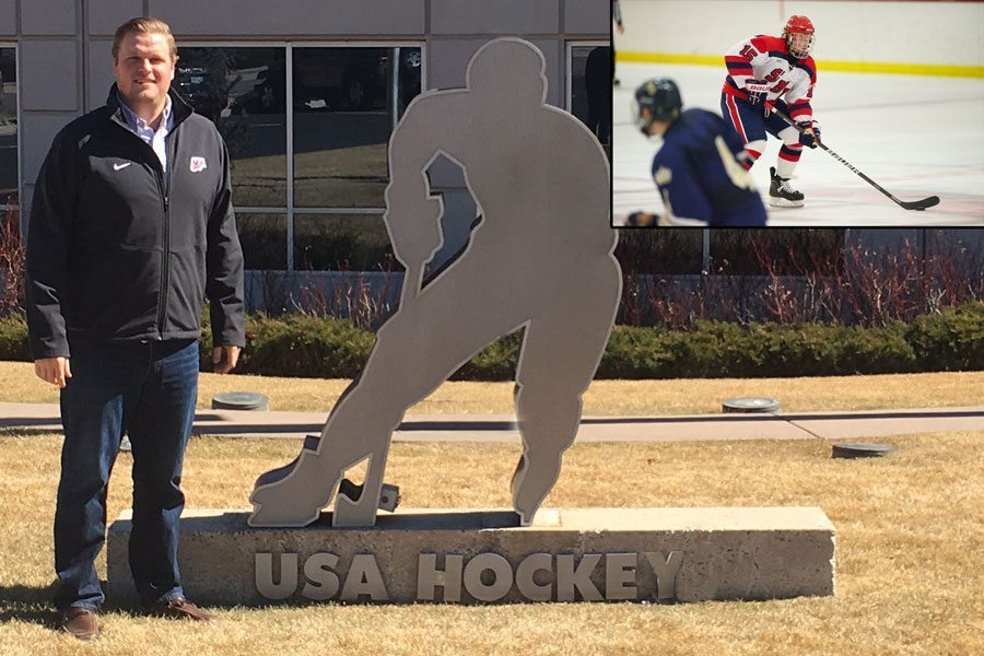 Ketterer nets career with USA Hockey