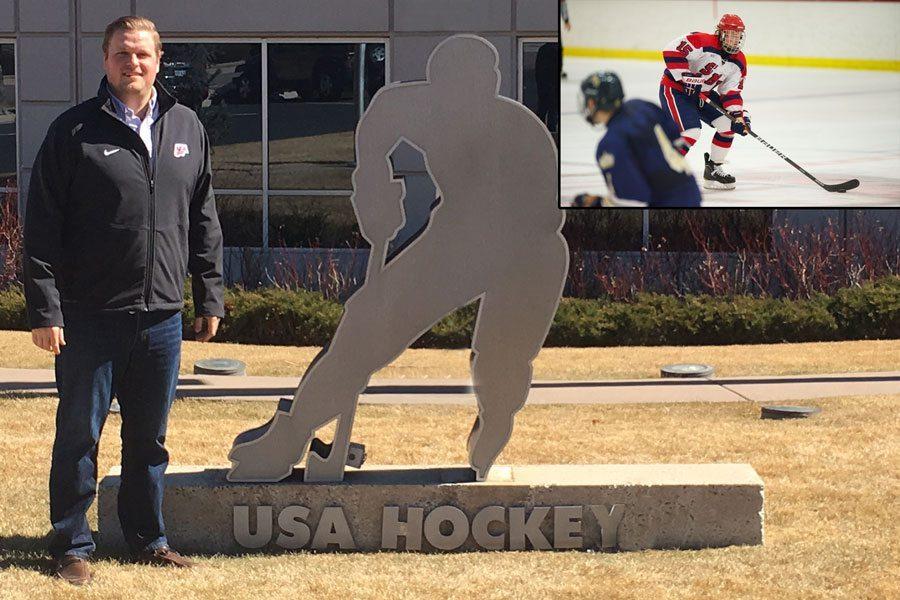 Ketterer nets career with USA Hockey