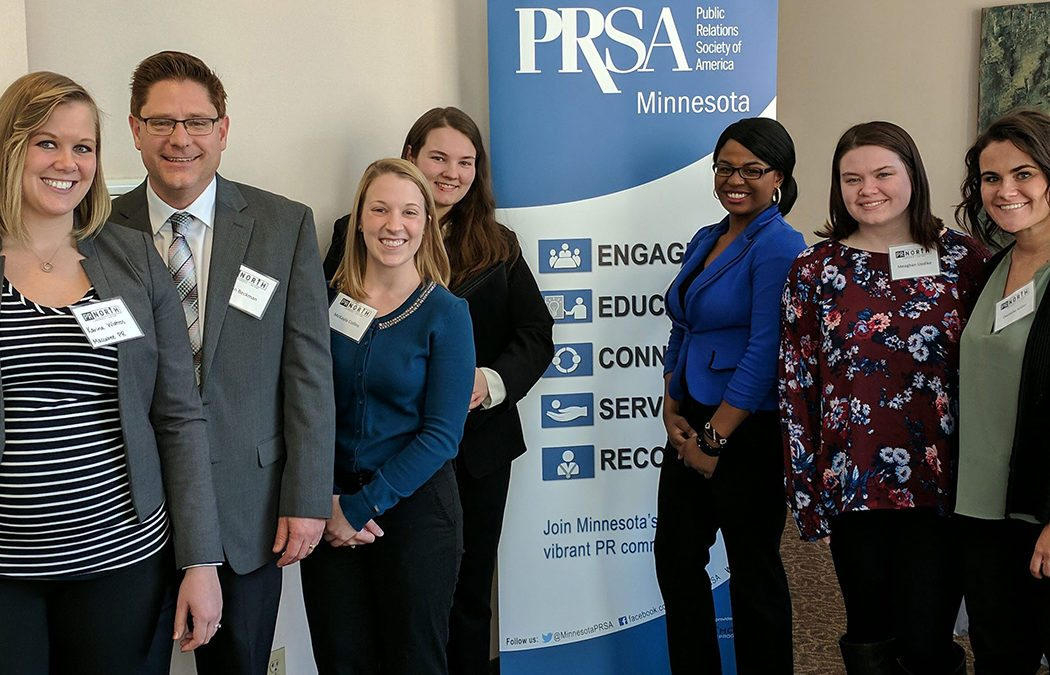 Public Relations/Business Club students attend conference