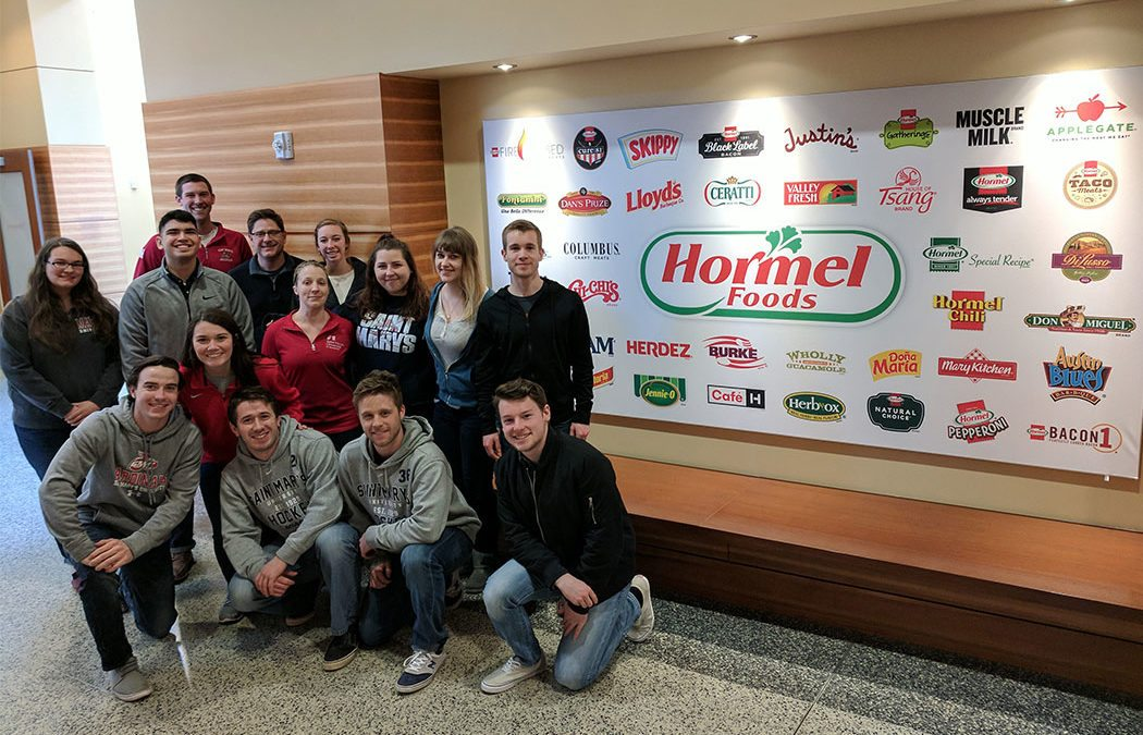 PR/B Club visits Hormel