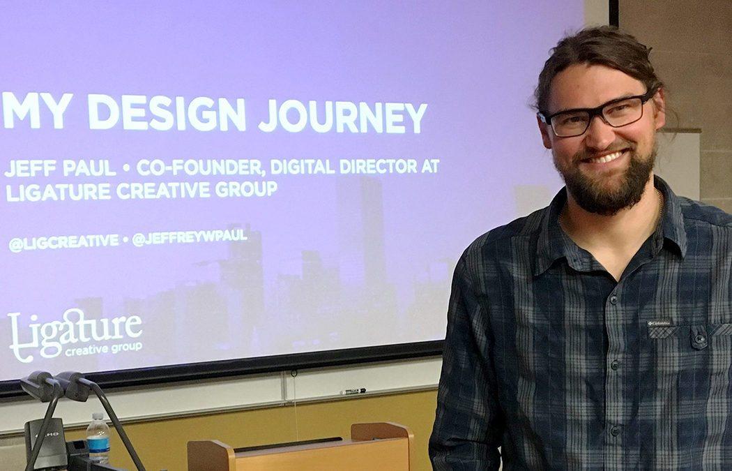 Design alumnus chooses purpose over paycheck
