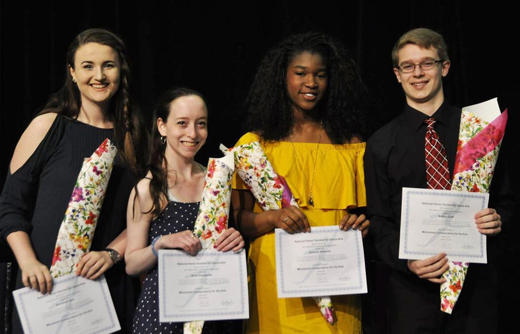 MCA inducts local students into National Honors Society for Dance Arts