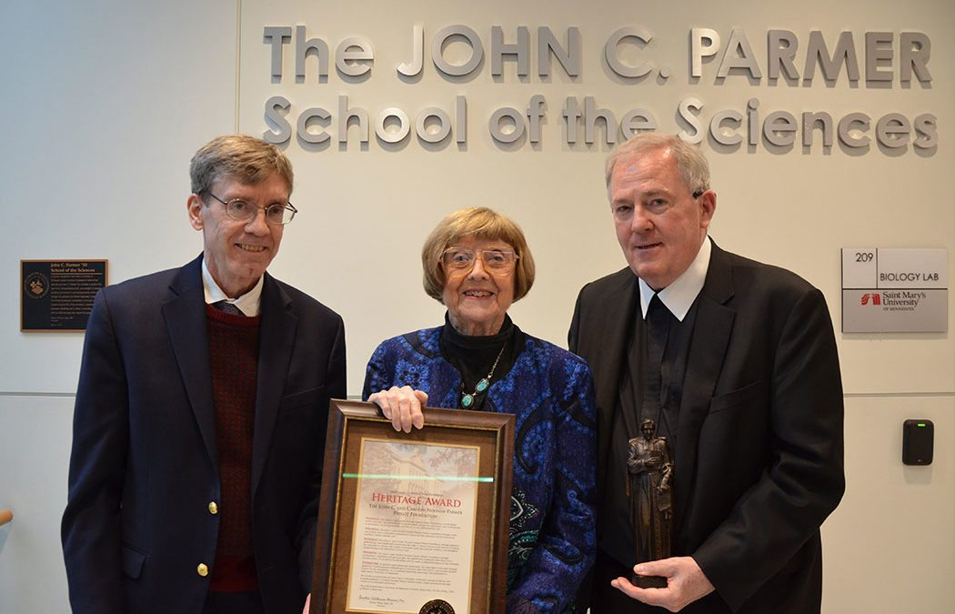 Saint Mary's dedicates The John C. Parmer School of the Sciences