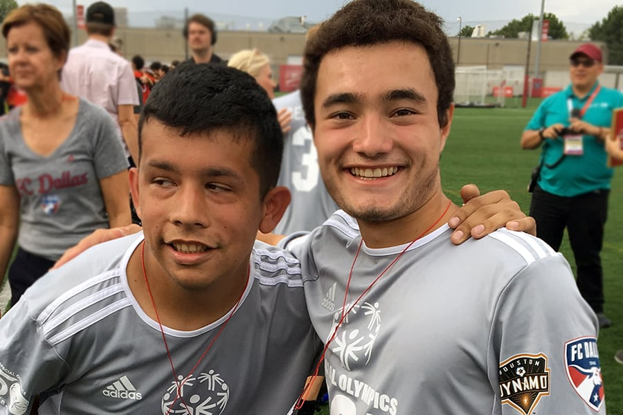 Saint Mary's soccer player nets national Special Olympics appearance