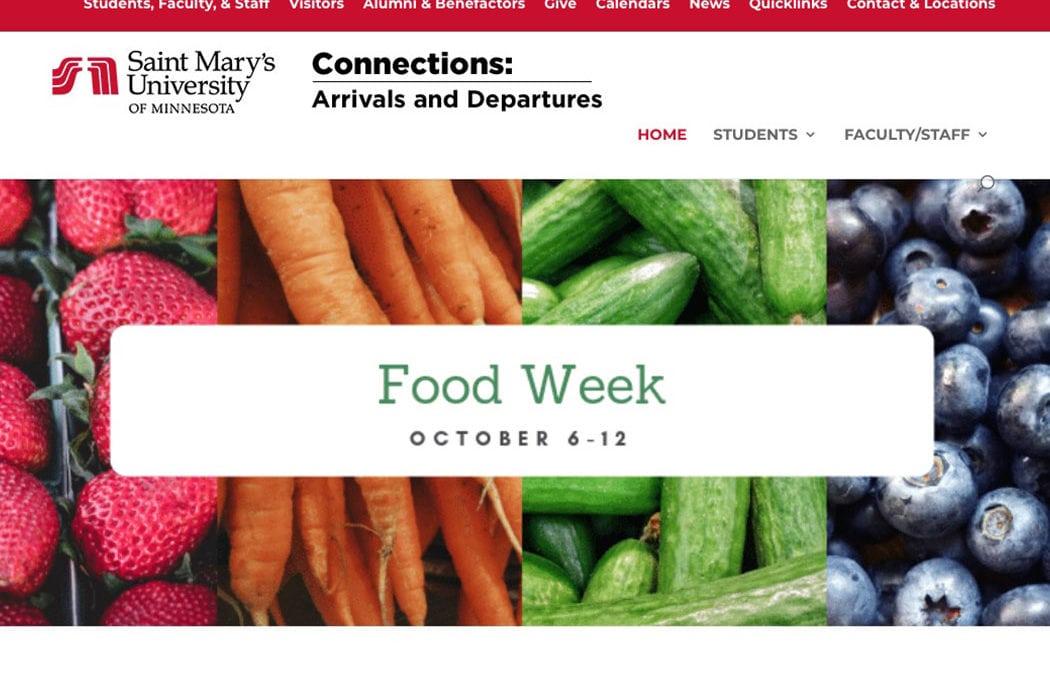 Saint Mary's celebrates Food Week