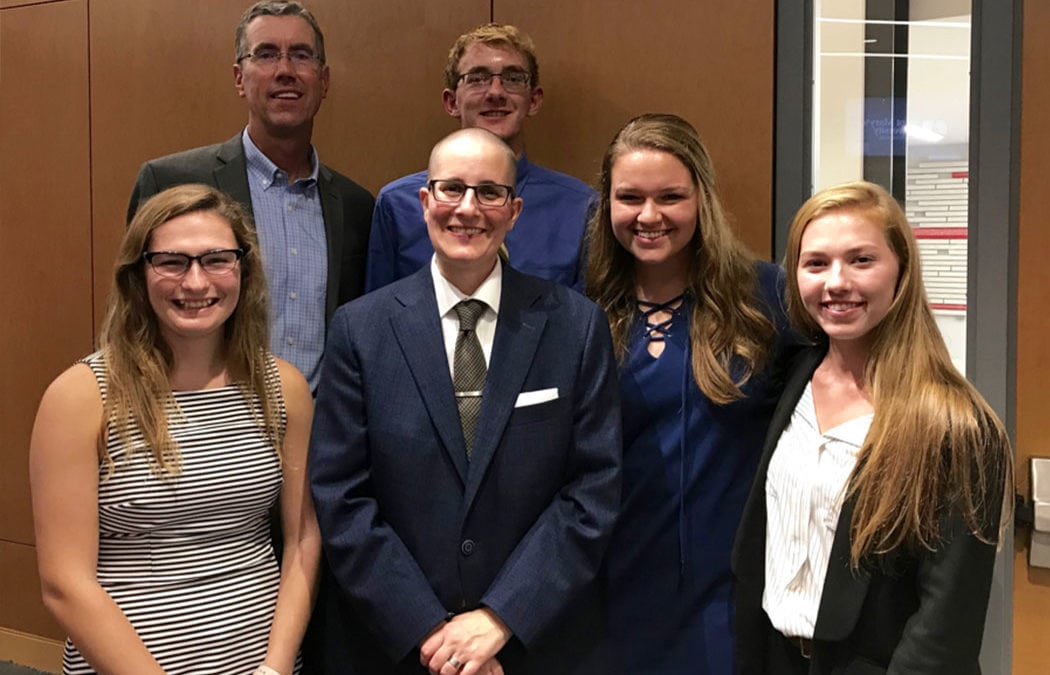 2018 Minnesota Teacher of the Year visits Saint Mary's