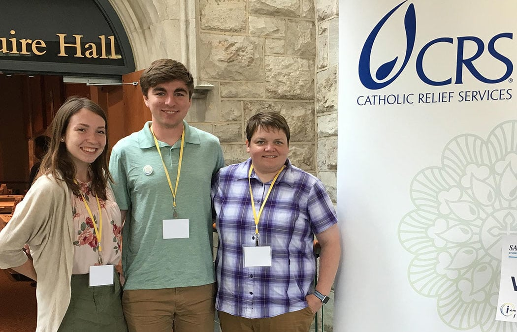 Saint Mary's works with CRS at Baltimore summit