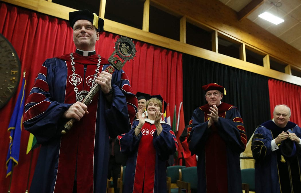 Saint Marys University Inaugurates 14th President