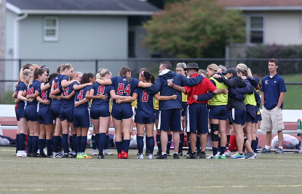 Women's soccer team, coast-to-coast and beyond