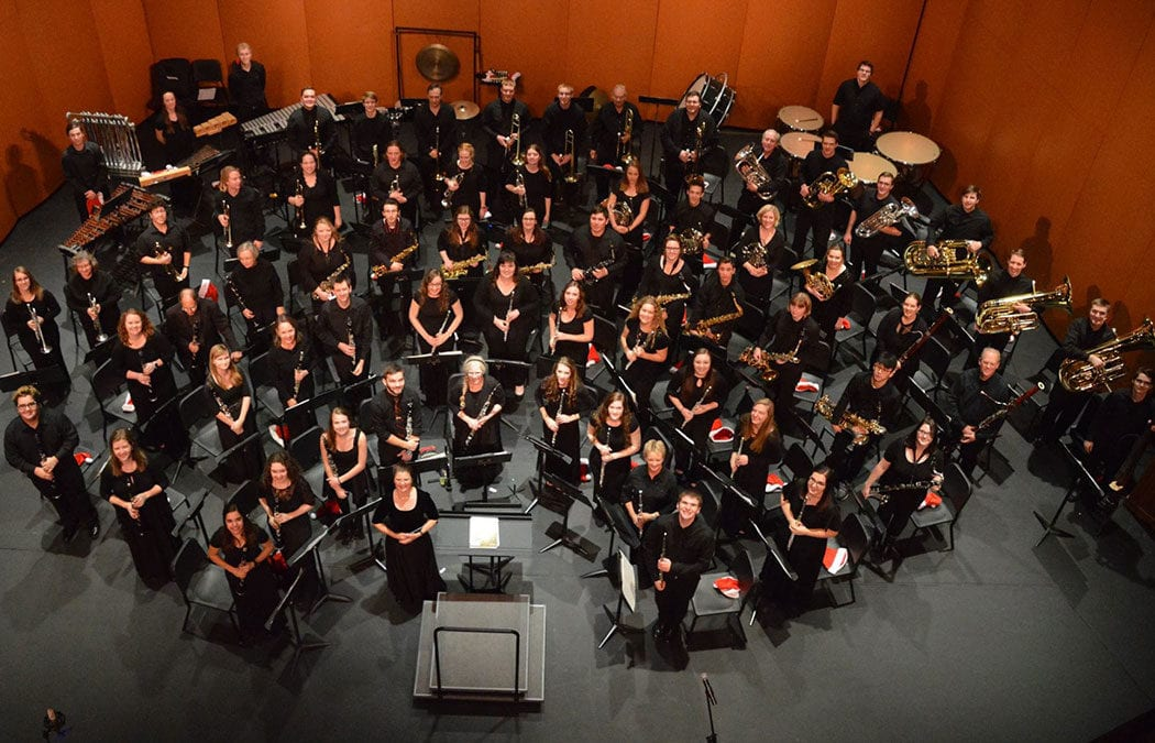 Enjoy sounds of the season with Saint Mary's Concert Band Dec. 9