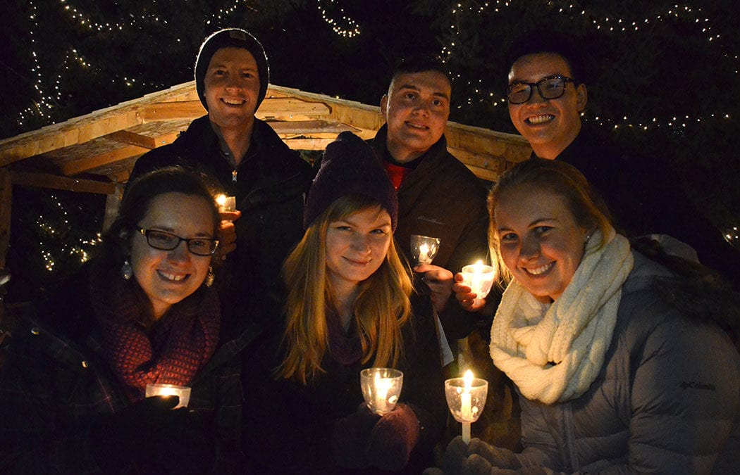 Save the date for annual Christmas Light Service and Pre-Finals Breakfast