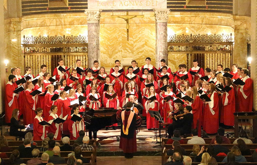 Saint Mary's 'Lessons and Carols' Christmas service is Dec. 8