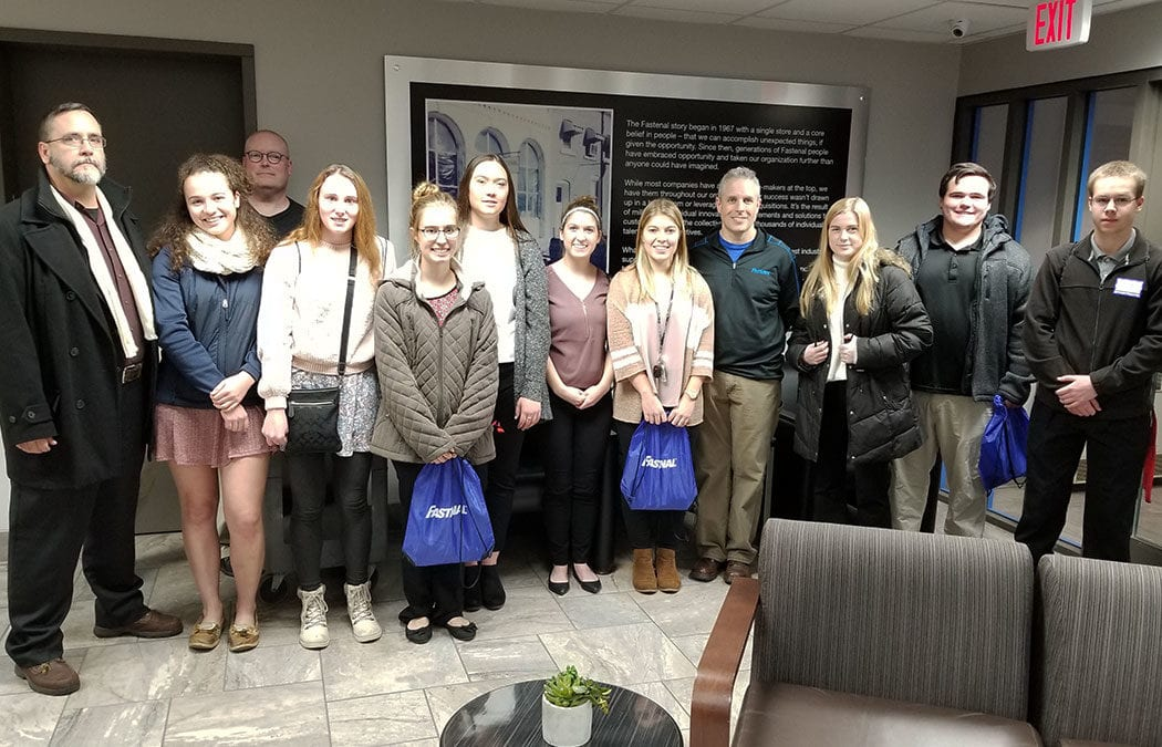 Fastenal hosts Public Relations/Business Club