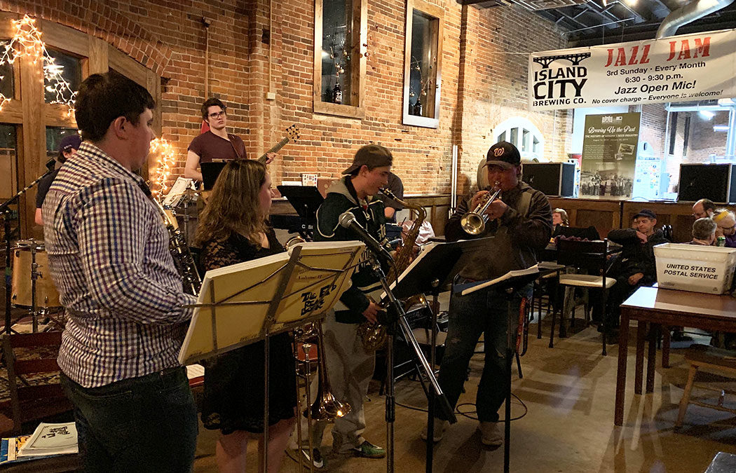 Island City's Jazz Jam kicks off a new year