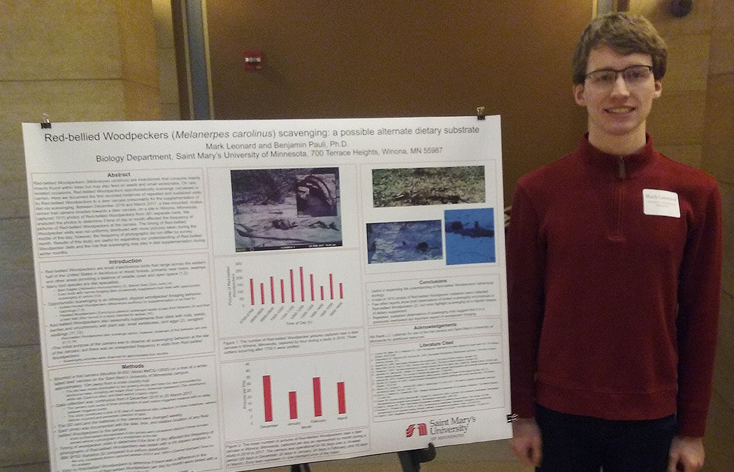 Students present research at the Capitol