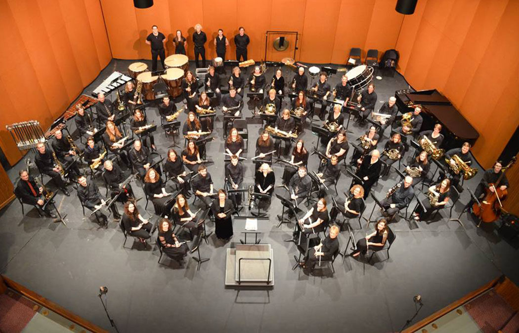 Concert Band performs commissioned piece