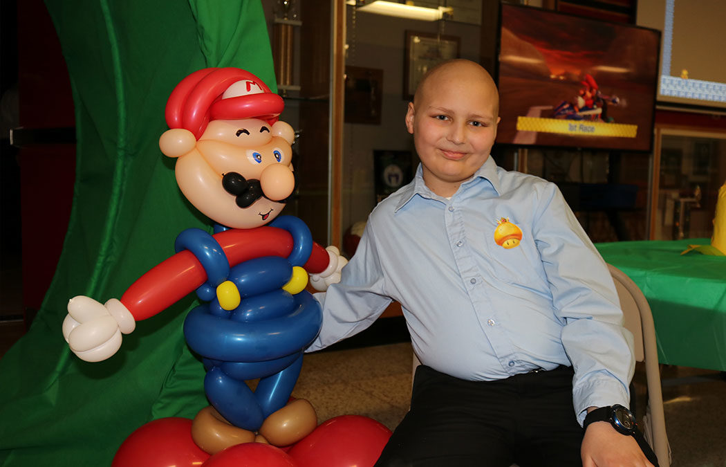 Saint Mary's raises $21,000 for Winona boy battling leukemia