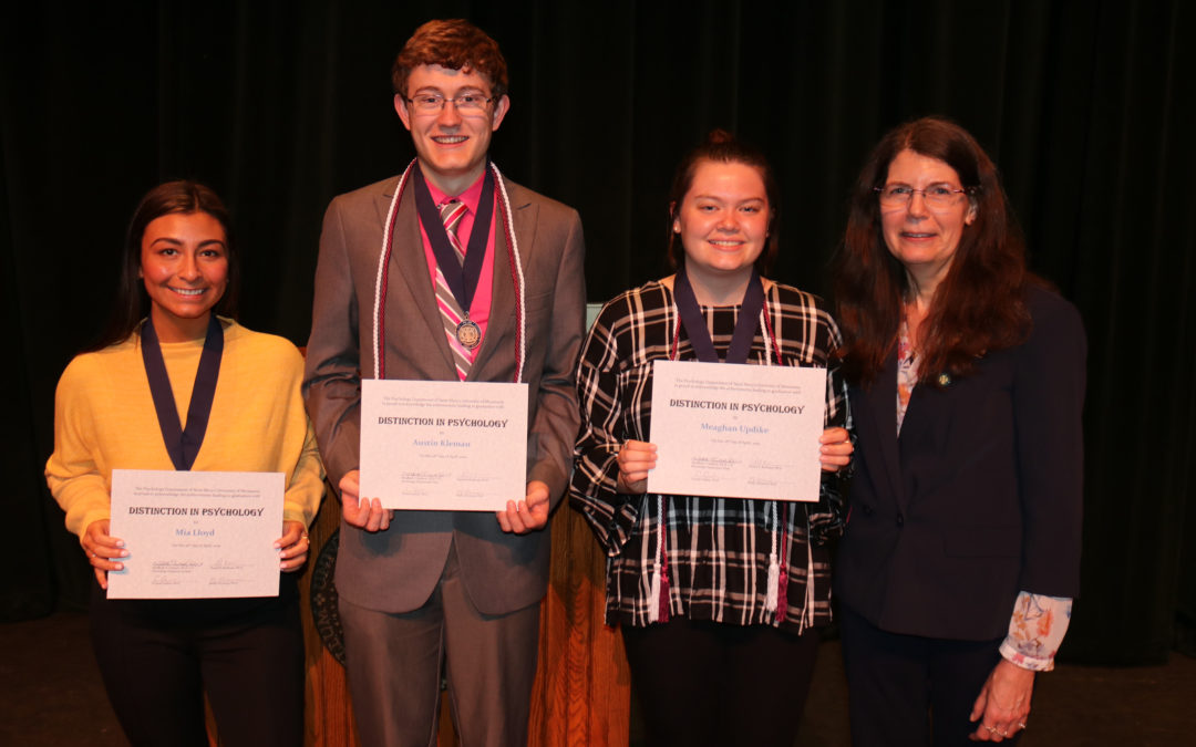 Students honored for academic achievements by Saint Mary's