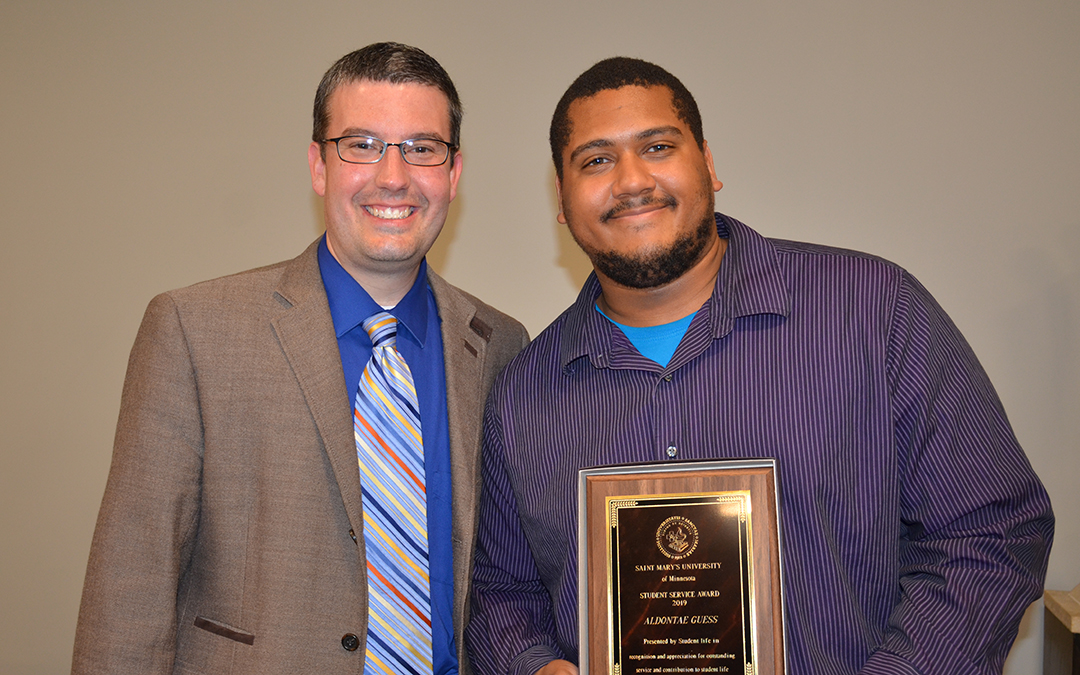 Saint Mary's presents Student Life awards to students, faculty, staff
