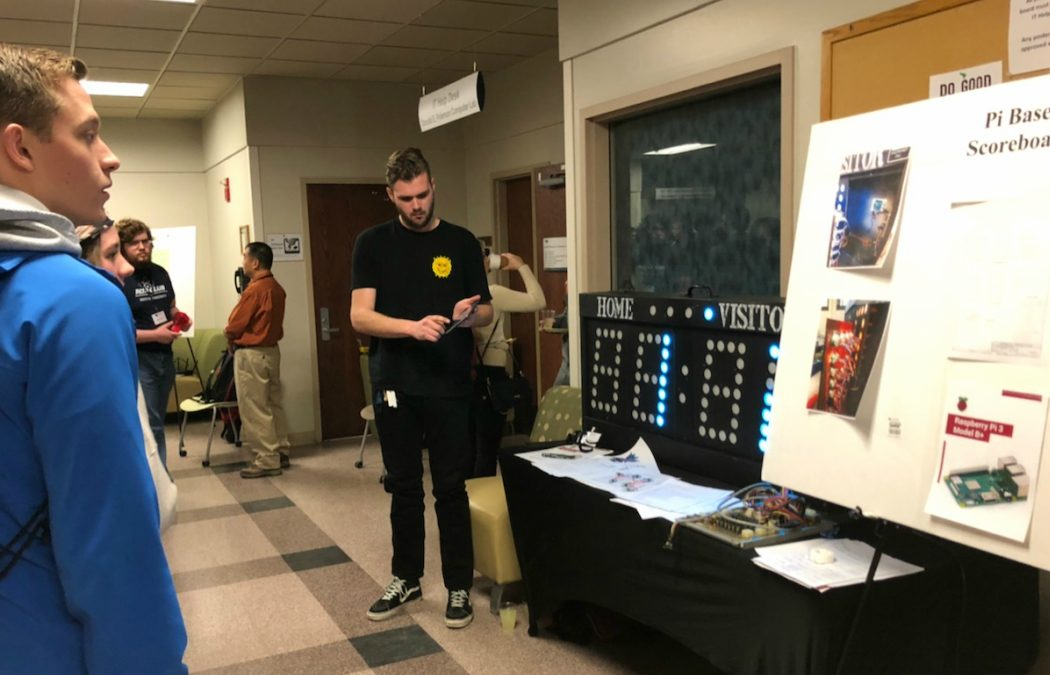 Students and faculty attend computing symposium