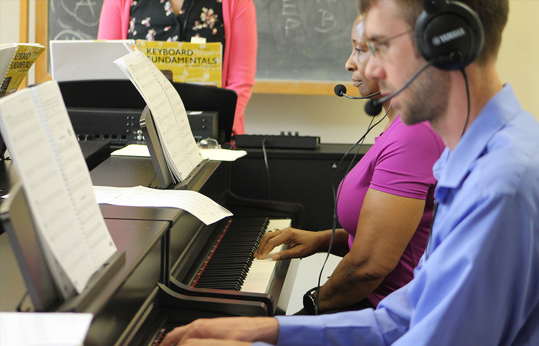 Community piano lab opens in Winona