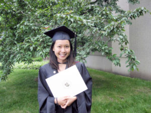 Amber Leong graduation