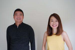 Amber Leong and Kin Chew