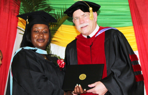 Brother John Smith Jamaica M.Ed. commencement