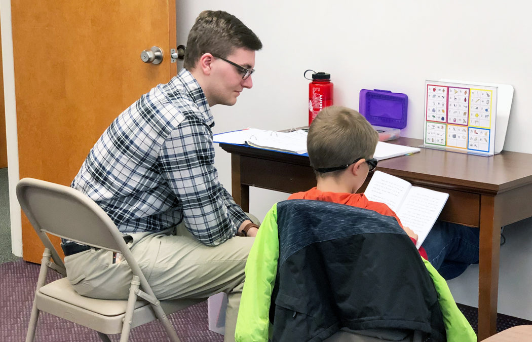 ITA clinic continues to help Winona-area grade school students improve their reading skills