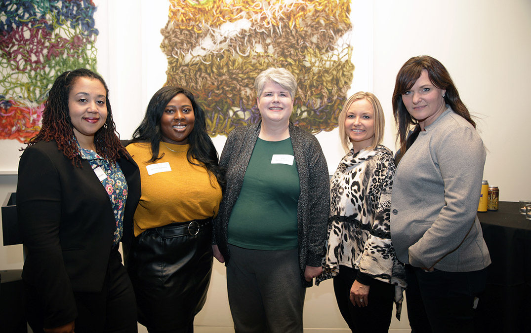 Inaugural reception provides community-building experience, connections for online graduate students