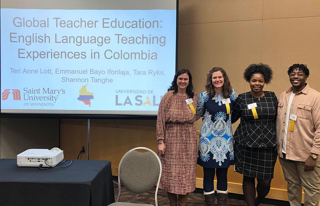 Saint Mary's alumni, faculty present at Minnesota English Language Education conference