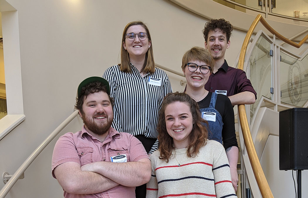 Students share literary work at undergraduate writing conference in Iowa