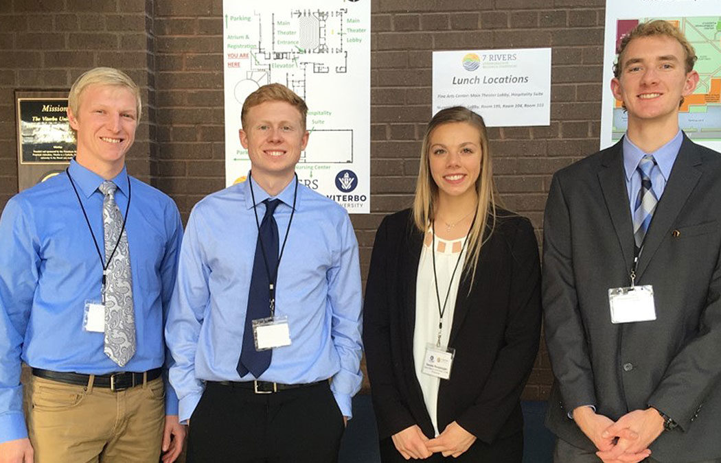 Biology students recognized for work