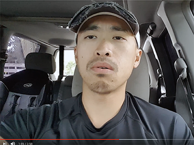 """Calvin Yang's social media following began after he took out his phone and filmed his first video in his car after one of his doctoral classes at Saint Mary's in August 2017. The topic of his first video focused around the meaning behind a Hmong proverb that translates into English as, """"Take a wrong step, and you can take that step back. Misspeak, and you won't be able to take those words back."""""""