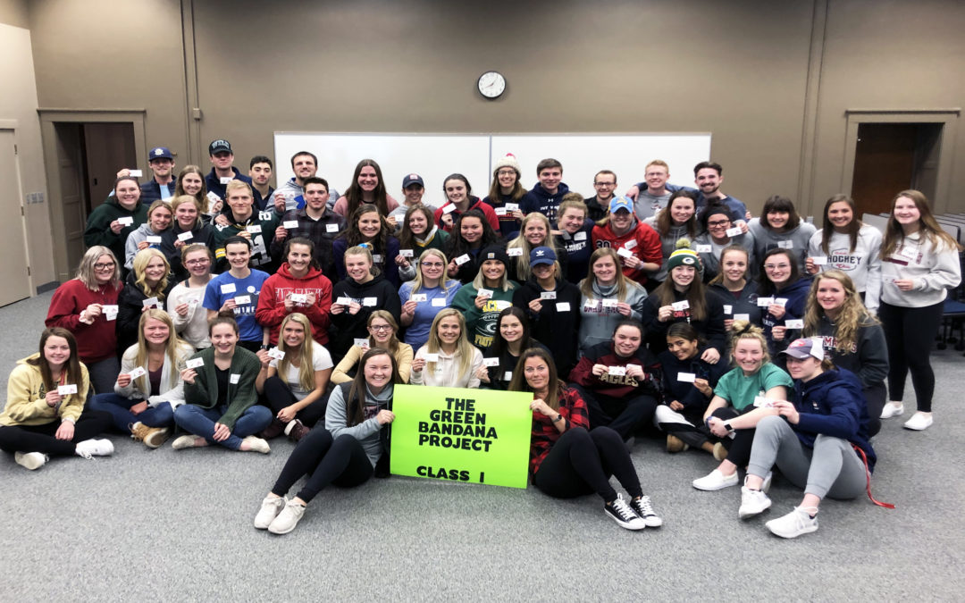 Going green: National mental health awareness movement reaches Winona Campus