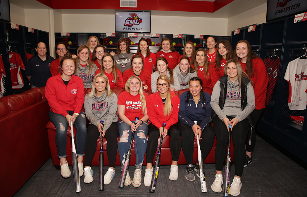 Saint Mary's completes new women's softball locker room facility