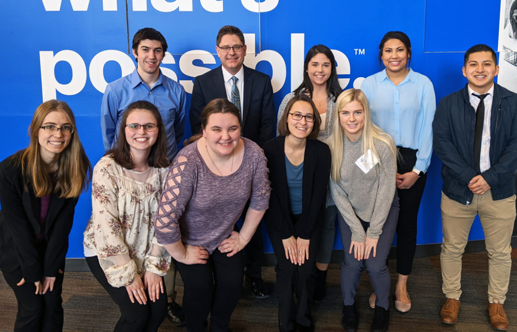 A group of students from the Public Relations/Business Club attended PR North on Feb. 8 in Minneapolis.