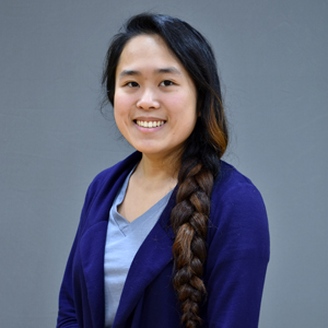 This is a portrait photo of Carol Dao.