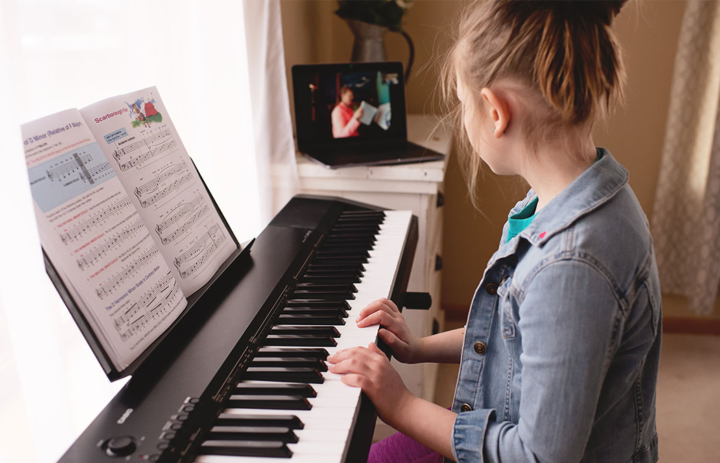 MCA offers online private music lessons