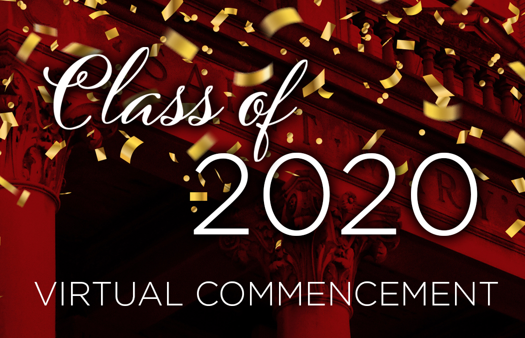 First ever virtual commencement held