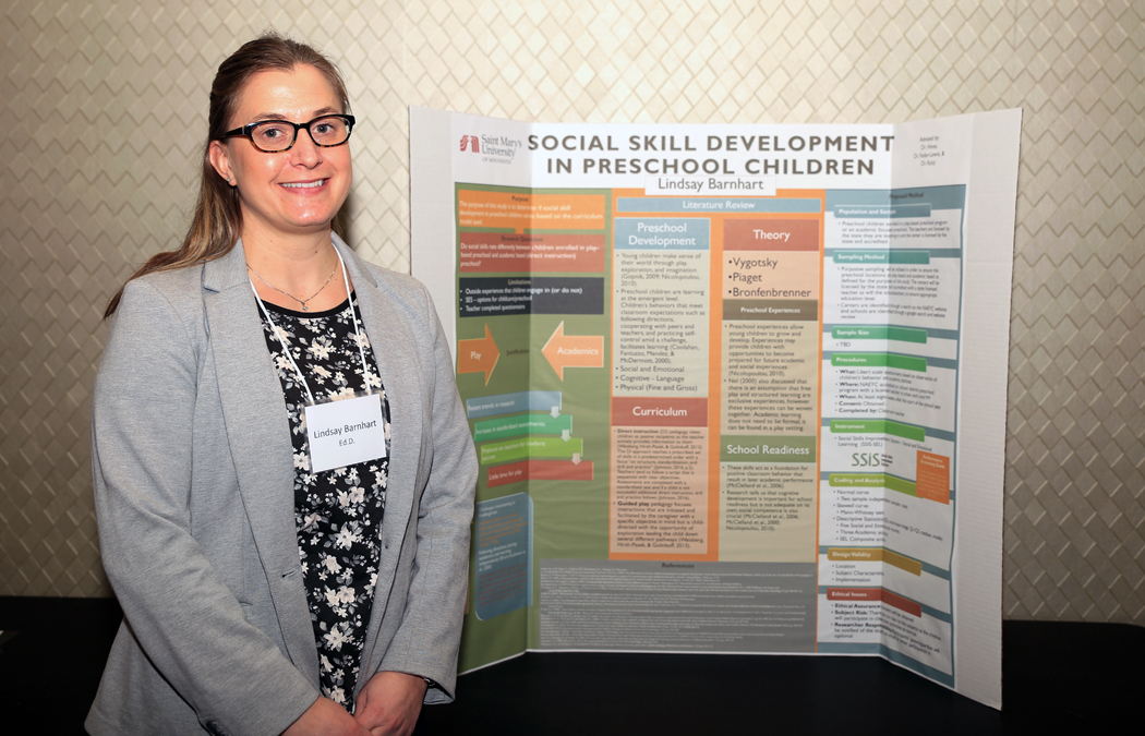 A critical time: Ed.D. student examines early childhood social skills for doctoral dissertation