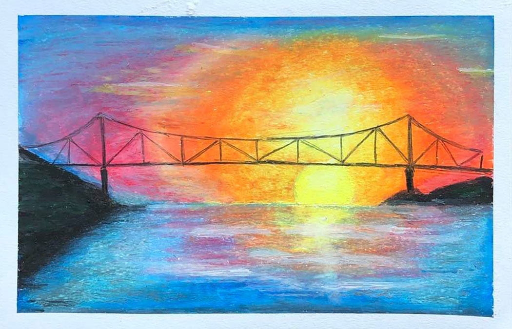 MCA presents oil pastels class  with Winona Friendship Center