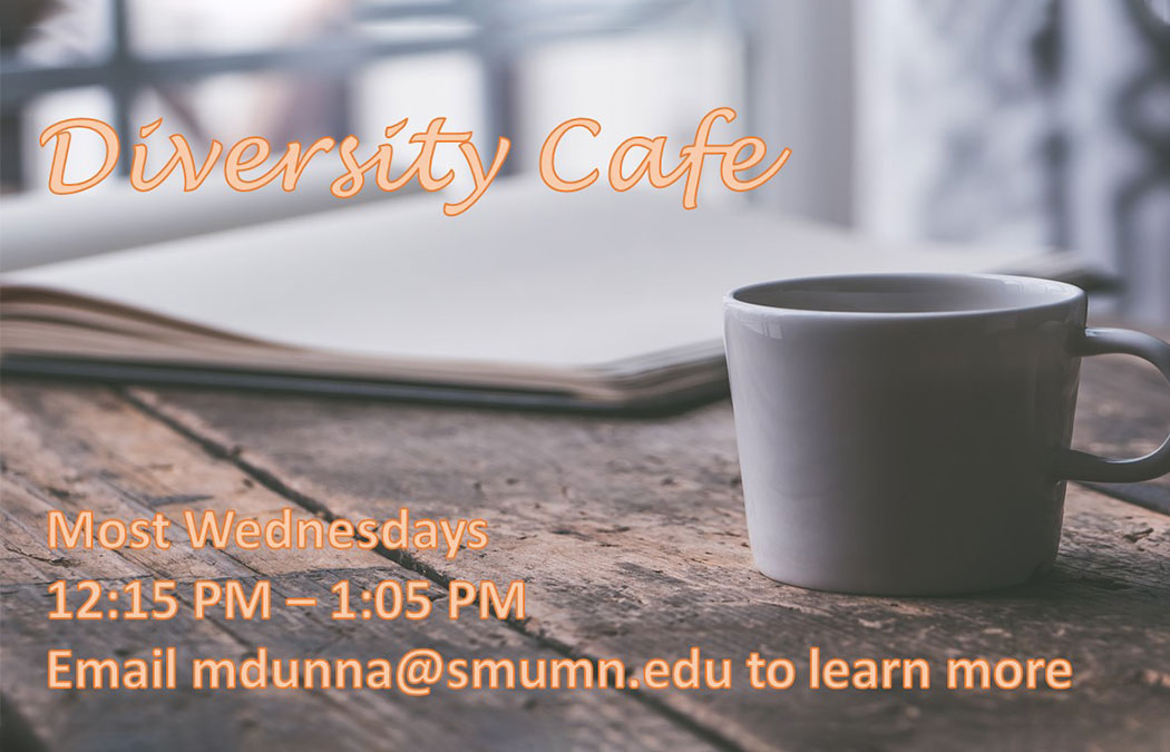 Diversity Café is back for the 2020-21 academic year