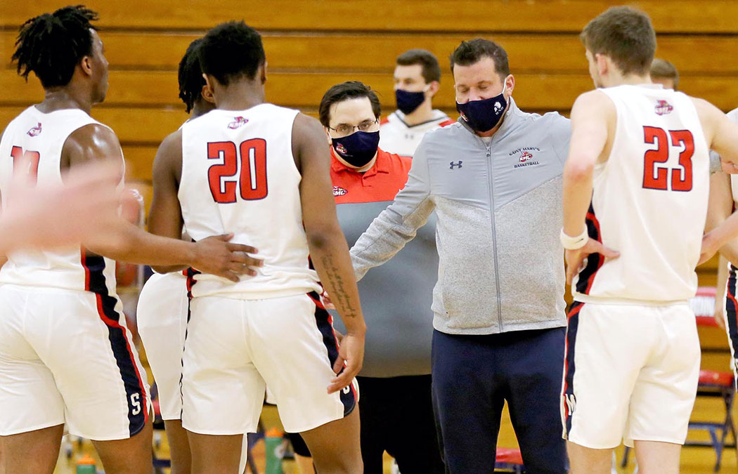 Student-athletes work to stay COVID-free