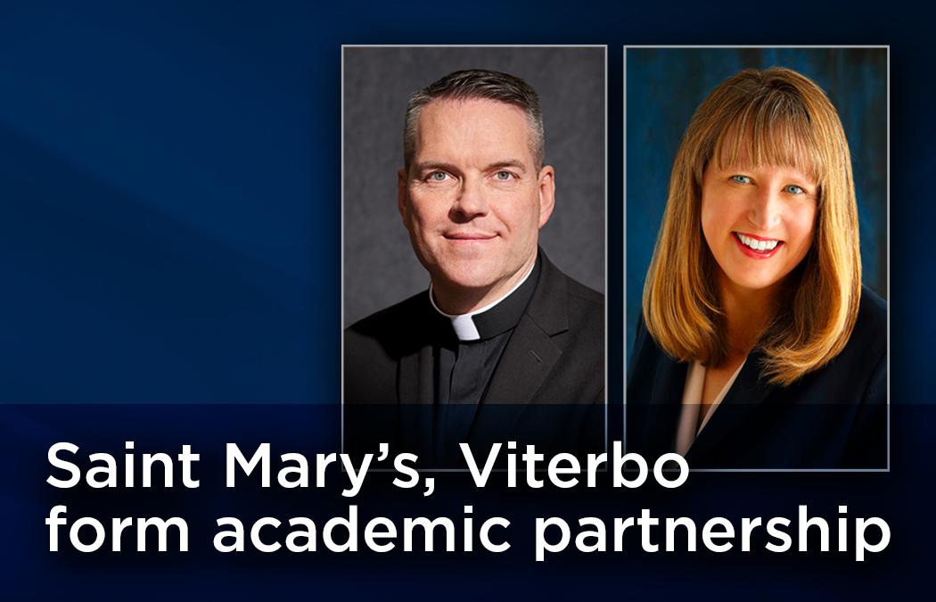 Saint Mary's University, Viterbo University form new academic partnership